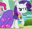 Rarity dinner party dress ID S3E10