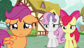 Cutie Mark Crusaders with teary eyes S6E19.png
