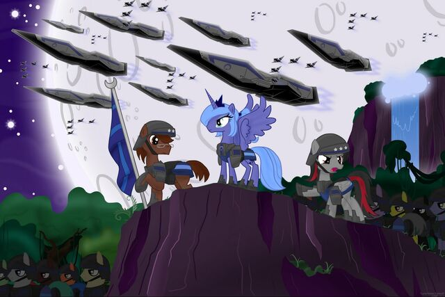File:FANMADE Princess Luna commands a large army.jpg