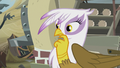 Gilda pondering on Pinkie's words S5E8.png