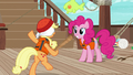 Applejack stumbles around dizzily S6E22.png