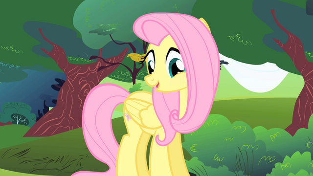 File:Fluttershy about to tell the story of how she got her cutie mark S1E23.png