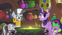 "Twilight ""they're having fun with Discord"" S5E22"