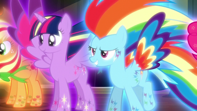 File:Twilight and Rainbow in Rainbow Power forms S5E13.png