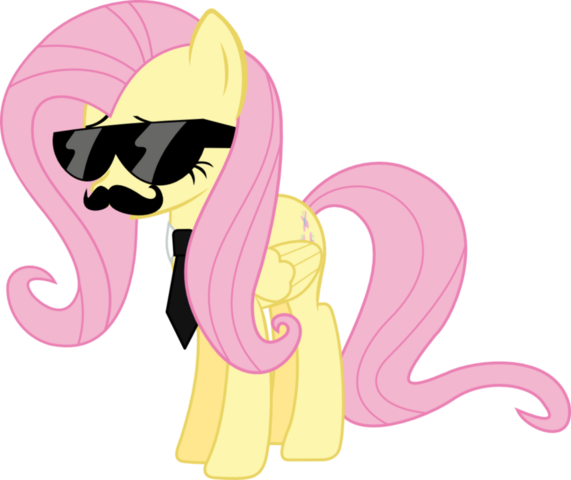 File:FANMADE Mane six got swag fluttershy by l0gun.png