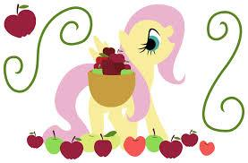 File:FANMADE fluttershy with a basket of apples.jpg