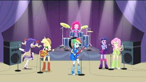 MLP EG - Rainbow Rocks Music Shake Your Tail HD