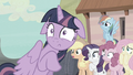 Mane Six scared of Starlight Glimmer S5E2.png