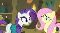 Rarity 'Your voice became really low' S4E14