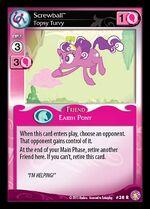 Screwball, Topsy Turvy card MLP CCG
