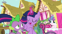 Twilight Sparkle explains what B.A.E. stands for S7E3