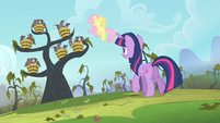 Twilight walking towards the tree S4E07