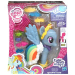 Cutie Mark Magic Fashion Style Rainbow Dash packaging