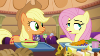 "Fluttershy ""he's better off with them fighting"" S6E20"