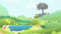 Mushroom cloud S4E18