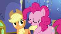 "Pinkie ""They'll be in good hooves with me"" S5E11"