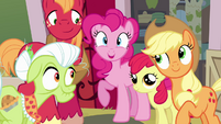 Pinkie Pie excited agreement S4E09