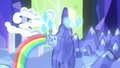 Pinkie and Rarity's cutie marks float over Canterlot S6E12.png