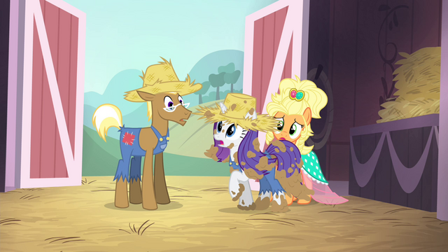 "File:Rarity ""what Applejack is trying to say"" S4E13.png"