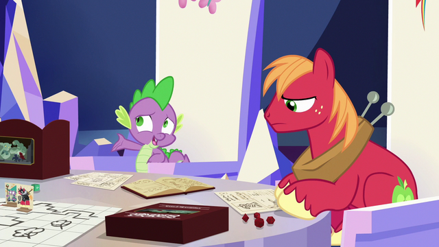 """File:Spike """"he's off somewhere by himself"""" S6E17.png"""