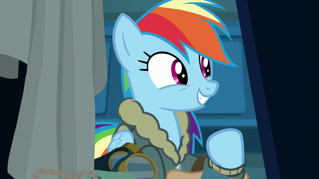File:Rainbow Dash excited to see her friends S6E24.png