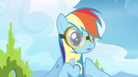 Rainbow Dash feeling gaze S3E7