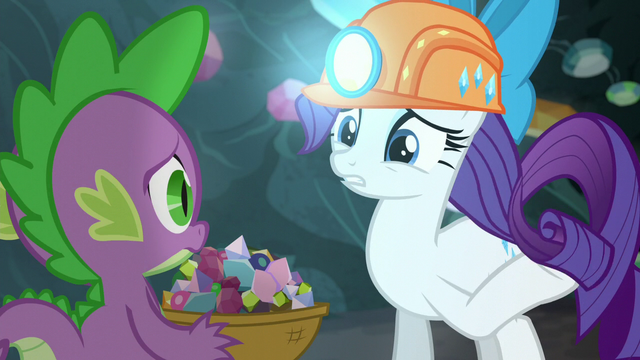 File:Rarity touches her mane S6E5.png