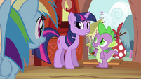 Spike about to go S2E21