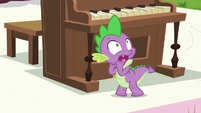Spike reacts S5E11