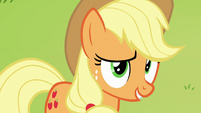 "Applejack ""we'll see if that Svengallop truly"" S5E24"