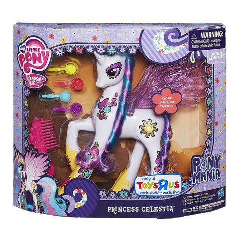File:Princess Celestia Ponymania doll packaging.jpg