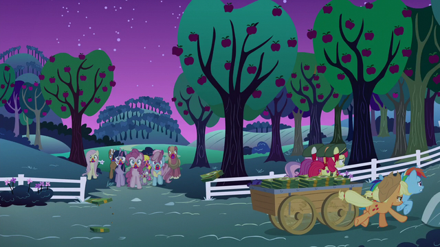 File:Rainbow and friends escape the zombie horde S6E15.png