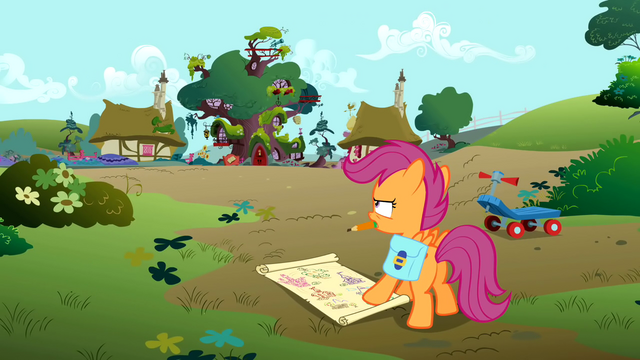 File:Scootaloo drawing a map S01E18.png