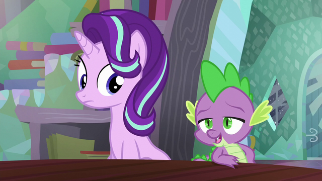 "File:Spike ""Technically, she's more of a student than a protégé"" S6E2.png"