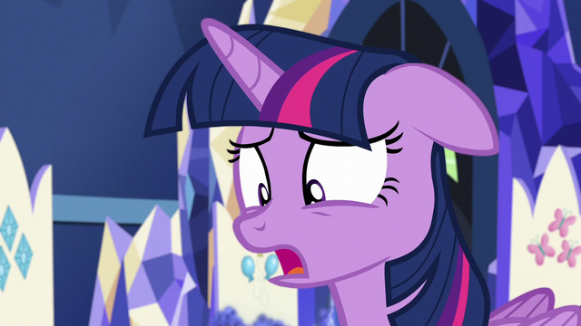 "File:Twilight Sparkle ""you're laughing at me"" S7E1.png"