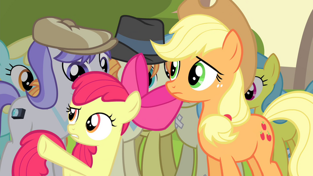"""File:Apple Bloom """"how come Granny can swim again"""" S4E20.png"""
