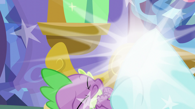 File:Discord vanishes from Spike's room S5E7.png