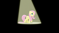 Fluttershy singing in the spotlight S6E11.png