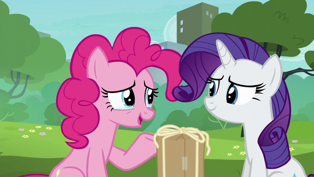 "File:Pinkie Pie ""couldn't have done it without you"" S6E3.png"