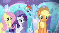 "Rarity ""if you can stay awake long enough"" S6E1"
