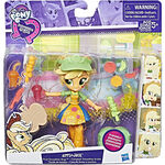 Equestria Girls Minis Applejack Fruit Smoothies Shop packaging