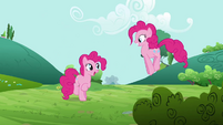 Pinkie Pie 'Now off to double my fun' S3E3