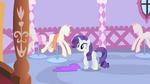 Rarity realizes that she needs ribbon S1E17