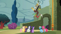 Discord 'Good luck, everypony' S2E01.png