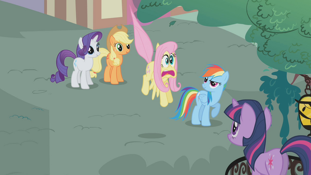File:Fluttershy freaks out S1E7.png