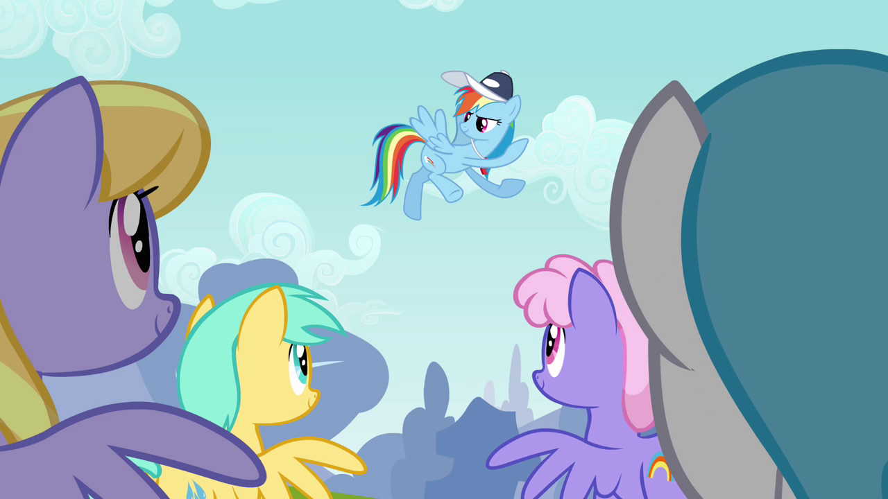 Image  Rainbow Dash speaking to the Pegasi S2E22png  My Little Pony Friend # Sunshower Mlp_175524