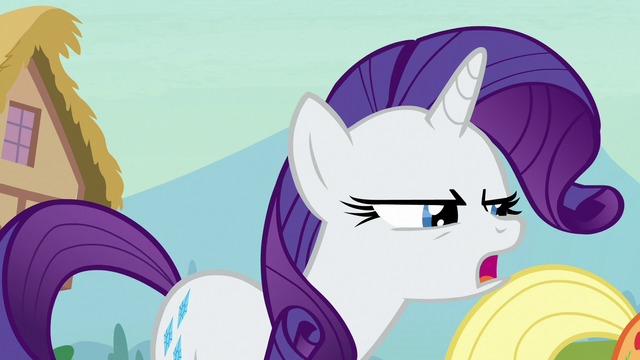 """File:Rarity """"doesn't feel so good, does it?"""" S7E9.png"""