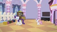 Rarity walking away S2E05