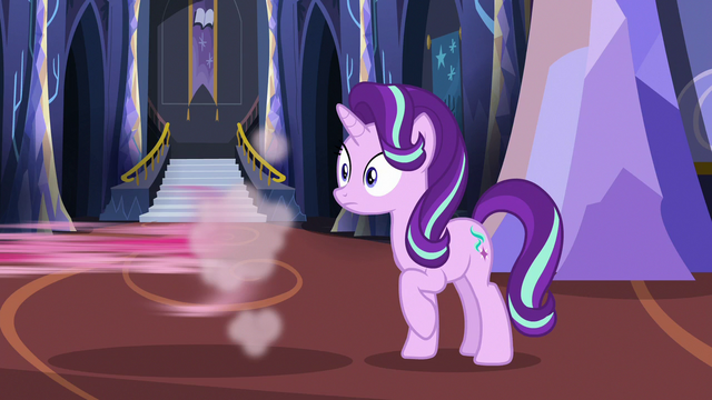 File:Starlight hears Rarity as Pinkie speeds off-screen S6E21.png