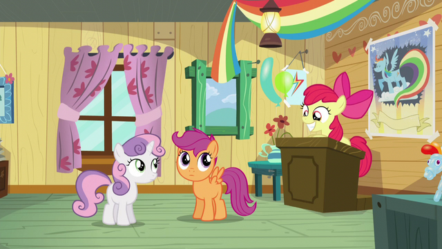 File:Sweetie Belle and Scootaloo looks at Apple Bloom S5E04.png